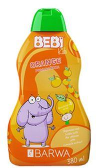 BARWA Bebi Kids 2w1 szampon i płyn do kąpieli pomarańcza 380 ml