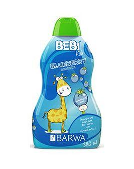 BARWA Bebi Kids 2w1 szampon i płyn do kąpieli jagoda 380 ml