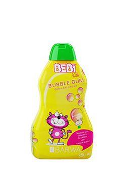 BARWA Bebi Kids 2w1 szampon i płyn do kąpieli guma balonowa 380 ml