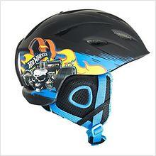 Kask narciarski Hot Wheels Rozmiar S Czarny