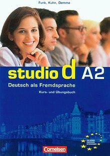 Studio d A2 Kurs und Ubungsbuch +CD Podręcznik z ćwiczeniami. Outlet