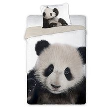 """Pościel """"Wild Panda""""  160x200 + 70x80 - ZAPŁAĆ 15 ZŁ MNIEJ Z MASTERPASS"""