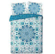 """Pościel bawełniana """"Morocco Blue"""" 160x200+2x70x80 cm"""