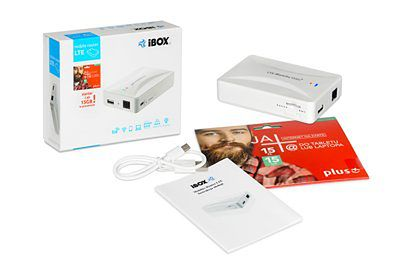 iBOX Mobilny Router Power Bank Lte 3G Repeater