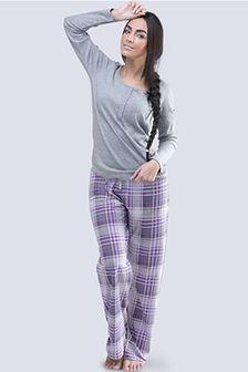 Damska piżama Anabell szara