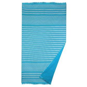 Ręcznik plażowy Alacati turkusowy
