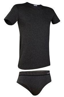 Męski komplet: T-shirt i slipy Enrico Coveri 1625SA