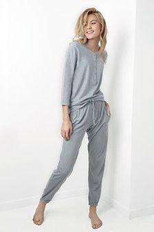 Damska piżama Juliet szara