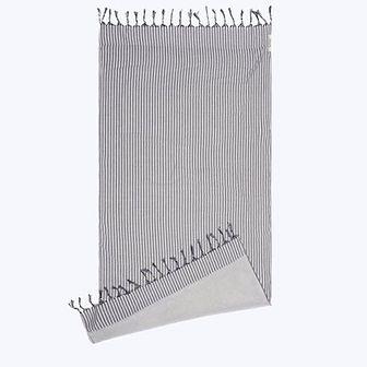 Ręcznik plażowy Kikoy szaroniebieska