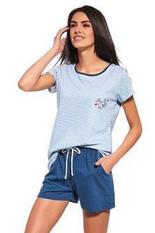 Damska piżama Sea of Love niebieska