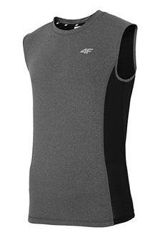 Męska koszulka sportowa 4F Dry Control Grey