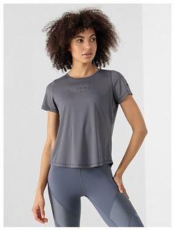 Koszulka do jogi z materiałów z recyklingu damska