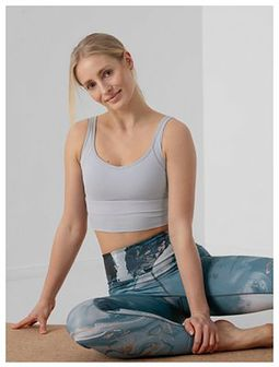Top do jogi z materiałów z recyklingu damski