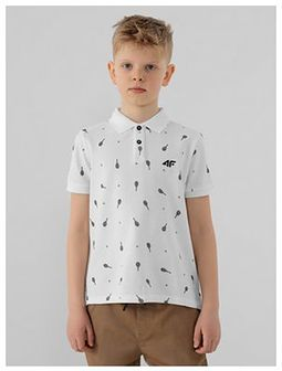 Koszulka polo regular z nadrukiem chłopięca