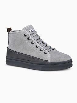 Buty męskie sneakersy T362 - szare