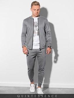 Komplet męski bluza + spodnie Z27 - grafitowy