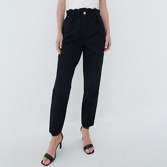 Mohito - Spodnie slouchy - Czarny