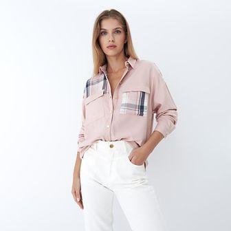 Mohito - Wiskozowa koszula - Beżowy