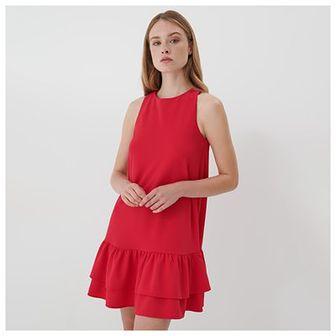 Mohito - Trapezowa sukienka Eco Aware - Czerwony