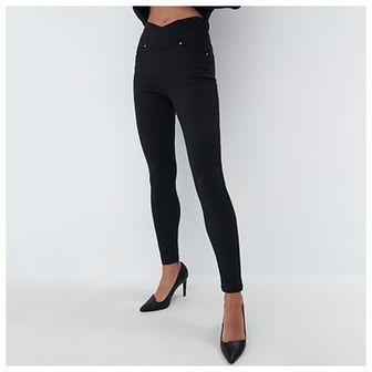 Mohito - Spodnie z wiskozą - Czarny