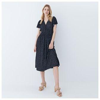 Mohito - Sukienka w kropki - Czarny