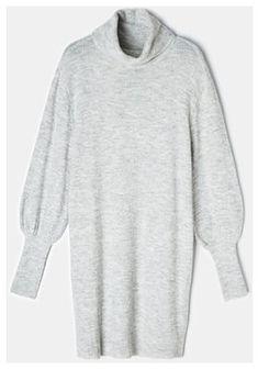 Mohito - Swetrowa sukienka Eco Aware - Jasny szary