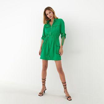 Mohito - Sukienka z zamkiem Eco Aware - Zielony