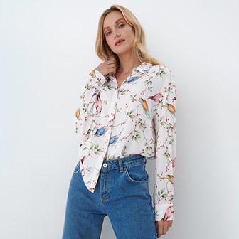 Mohito - Koszula w kwiaty Eco Aware - Wielobarwny
