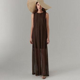 Szydełkowa maxi sukienka