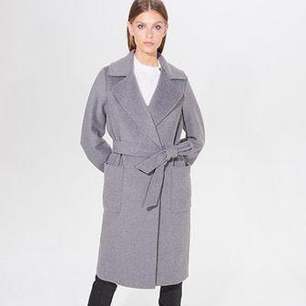 Klasyczny płaszcz z wełną