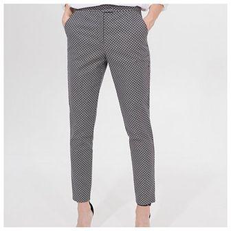 Spodnie cygaretki short length