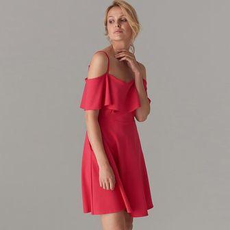 Sukienka cold shoulder