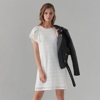 Koronkowa mini sukienka