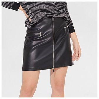 Mini spódnica z imitacji skóry