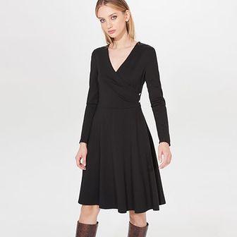 Rozkloszowana midi sukienka