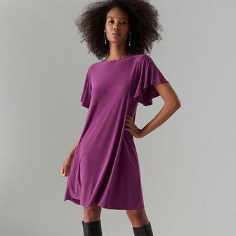Trapezowa sukienka oversize