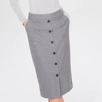 Ołówkowa midi spódnica