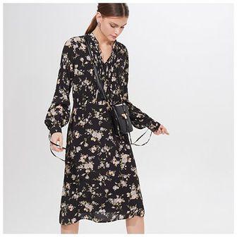 Sukienka midi z wiskozy