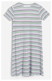 Reserved - Sukienka w paski - Wielobarwny