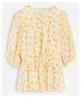 Reserved - Bluzka z lekkiej tkaniny - Żółty