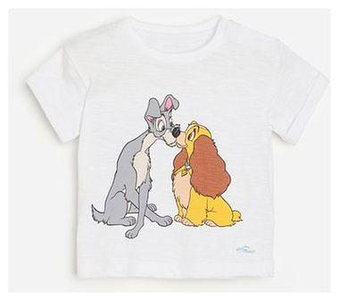 Reserved - T-shirt z nadrukiem Zakochany Kundel - Biały