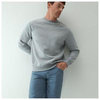 Reserved - Klasyczne bawełniane szorty - Niebieski