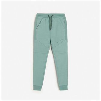 Reserved - Dresowe joggery z kieszeniami - Zielony