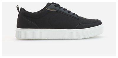 Reserved - Sneakersy z łączonych materiałów - Czarny