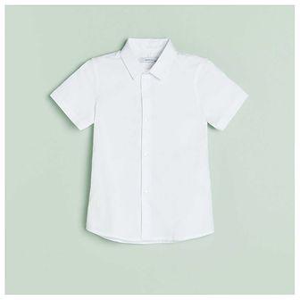 Reserved - Elegancka koszula slim fit - Biały