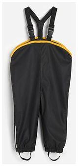 Reserved - Spodnie z szelkami - Czarny