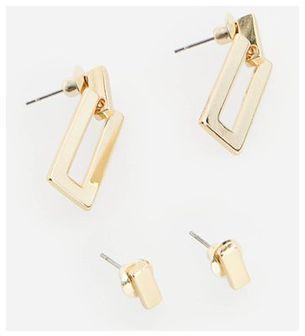 Reserved - Zestaw kolczyków - Złoty