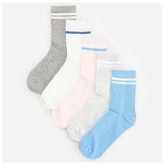 Reserved - Skarpety z bawełną organiczną 5 pack - Niebieski