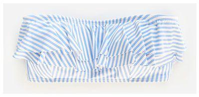 Reserved - Biustonosz plażowy - Niebieski