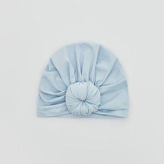Reserved - Dzianinowa czapka - Niebieski